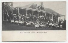 MA ~ Huge Group at Russell H. Conwell Home SOUTH WORTHINGTON Massachusetts c1908