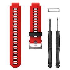 Garmin Lava Red Black Watch Strap Band Forerunner 230 235 630 735XT 010-11251-0N