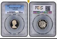 1981 Australia Ten Cent, 10c PCGS - PR67DCAM -036