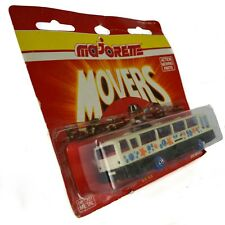 Majorette Movers Airport Bus Foreign Diecast Vintage 1970 Stars White Black