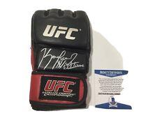 Kamaru The NIGHTMARE Usman Signed Autographed UFC Glove BECKETT BAS COA a