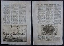1713 Toledo Tokay Tokaj LaSor Varea Raffaello Savonarola Radierung auf Kupfer