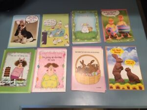 LOT OF 14 FUNNY EASTER CARDS & ENVELOPES BY LEANIN' TREE  RETAIL OVER $40
