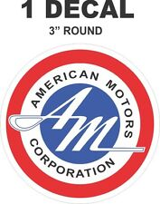 Vintage Style AMC American Motors Corporation AMX Rambler Javelin Decal - Nice!