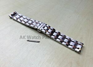 22mm TWO-TONE Strap Fits Tissot Couturier T035407A T035410A Bracelet/Band Watch
