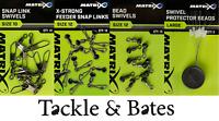 Matrix New Feeder Beads & Swivels 8 Options Match Feeder Fishing