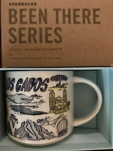 Starbucks Coffee Been There Series 14oz Mug LOS CABOS Mexico Cup w/SKU