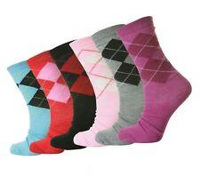 12 Pairs Ladies Womens Summer Cotton DESIGNER Colourd Socks Uk4-7 Eu35-39 L10745