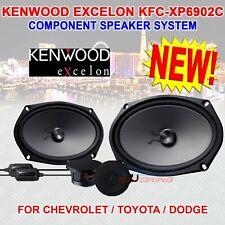 "KENWOOD EXCELON KFC-XP6902C 6"" x 9"" COMPONENT SPEAKERS TOYOTA DODGE CHRYSLER NEW"