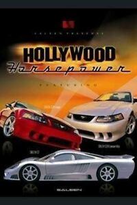 HOLLYWOOD HORSEPOWER Saleen Mustang & S7 Poster (3 Car)