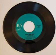 Original US 45rpm Single, Good Thing Man by Frank Lucas