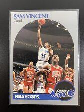1990-91 HOOPS MICHAEL JORDAN WEARS #12 CARD #223 👀📈 SWEET CARD! 😎 Sam Vincent