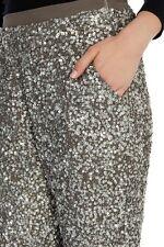 Stunning *Coast* (size Uk 8) Alura Beaded Trousers , Silver BNWT