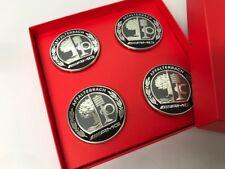 """AMG Radnabenkappen - Limited Edition """"50 Years AMG"""" - 4er Set schwarz/silber"""