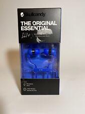 Skullcandy - Ink'D+ Wired In-Ear Headphones - Blue/Black