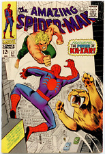 Amazing Spider-Man #57 VF 8.0  Ka-Zar
