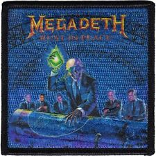 MEGADETH - REST IN PEACE - EMBROIDERED PATCH - BRAND NEW - 4251