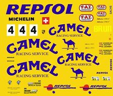 #4 Camel Porsche 962 C 1/43rd Scale Slot Car Decals