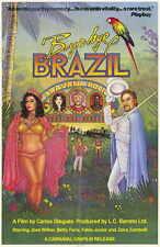BYE BYE BRAZIL Movie POSTER 11x17 Jose Wilker Betty Faria Fabio Junior Zaira