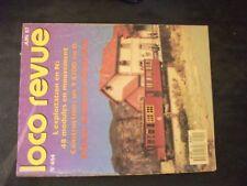 **fe Loco Revue n°494 Y 6200 en plasticarte en 0 / le module signal SNCF