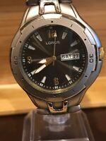 Vintage Lorus LR0645 Men's Quartz Watch. New Battery