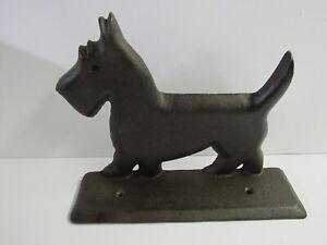New Cast Iron Scottie Scottish Terrier Dog Boot Shoe Scraper