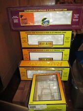 10 EMPTY BOXES RAIL KING MTH ATLAS K-LINE  TRAINS ACCESSORIES  EMPTY BOX LOT