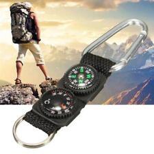 Boussole Accessoire Camping Mini Mousqueton Porte-clés En Métal Escalade Boucle