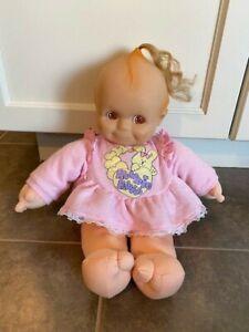 """Vintage 1993 Kewpie Baby Doll 16"""" , Giggles, Rose Art"""