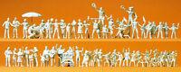 """Preiser 16342 H0 Figuren """"Volksfestbesucher, Schausteller, unbemalt #NEU in OVP#"""