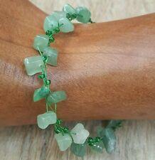 *Freedom Tree* Jade  Gemstone Bracelet  Hand Made Chakra /Healing