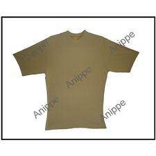 New 100% Egyptian Cotton Plain Beige t Shirt Undershirt Beige T Shirt  Large