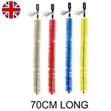 Long Handle Easy Reach Radiator Cleaning Bristle Brush Dust Cleaner Duster 70CM