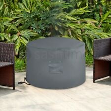 More details for fire pit cover heavy duty large folding waterproof uv resistant outdoor patio uk