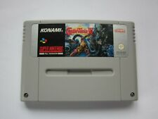 SUPER CASTLEVANIA IV SUPER NINTENDO / SNES GAME