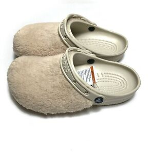 Crocs Classic Fuzz Mania Clog New Sandal Mens Size 11 Slip On Rare