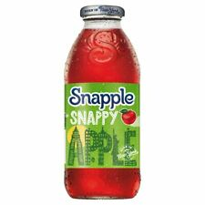 Snapple Snappy Apple Juice Drink 12 x 473ml - FREE TRACKED DELIVERY
