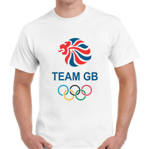 Team GB T-Shirt Lion Olympic Games England UK Retro Novelty Mens Unisex Top