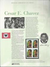 # 3781 CESAR E. CHAVEZ, CIVIL RIGHTS LEADER.  2003 Commemorative Panel