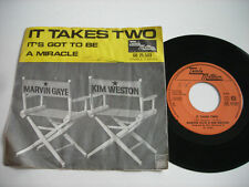 SHIGGIES PICTURE SLEEVE Marvin Gaye & Kim Weston It Takes Two 1958 45rpm VG+