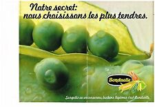 Publicité Advertising 1979 (2 pages) Les Légumes Bonduelle