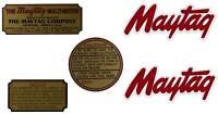 Maytag Gas Engine Decal Set Twin & Singles Multi Motor