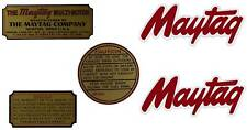 Maytag Gas Engine Decal Set Twin & Singles Multi Motor