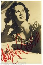 Hedy Lamarr + + AUTOGRAPHE + + + + Hollywood légende + +