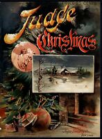 CHRISTMAS JUDGE 1892 ORNAMENTS CHRISTMAS TREE JACK IN THE BOX PRESENTS FIREPLACE