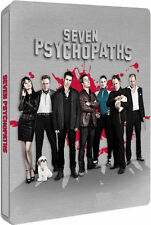 Seven Psychopaths Limited Edition Steelbook UK Exclusive Blu-ray Brand NEW SEALE