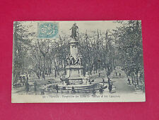 CPA CARTE POSTALE 1906 MARSEILLE BOUCHES DU RHONE 13 ALLEES MEILHAN & CAPUCINES