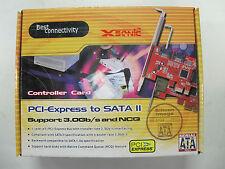 Xsonic SATA PCIe 1x eSATA 1x SATA Card  MODEL: FG-ES3132-1E1I-C2-01    CLEARANCE