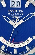Invicta Reserve 10100 Specialty Subaqua Mens Stainless and Leather Watch