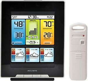AcuRite 02007 Digital Home Weather Station, Forecast, Temperature Humidity Gauge